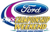 NASCAR Ford Campeonato Weekend 17 nov 2013